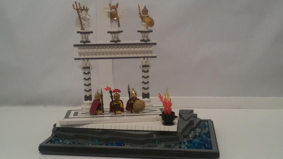 LEGO® MOC by tuning: Spartan Warrior
