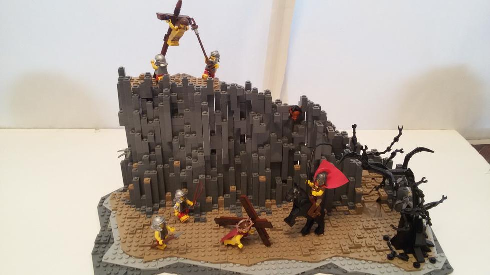 LEGO® MOC by tuning: Actul Final (Drumul Crucii)