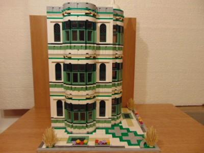 """LEGO® MOC by Chyck: Alt corner (casa """"creatza"""")"""