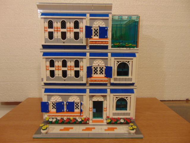 LEGO® MOC by Chyck: Casa cu sera