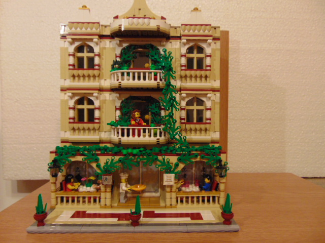 LEGO® MOC by Chyck: Restaurantul (chinezesc)