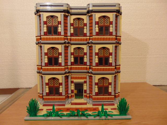 LEGO® MOC by Chyck: Casa cu stil