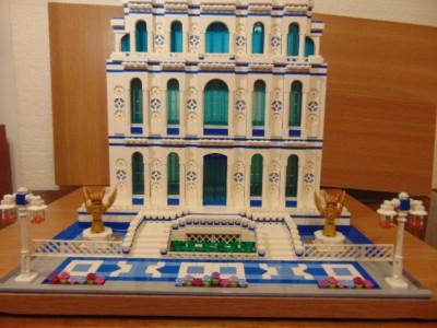 LEGO® MOC by Chyck: Palatul de cultura