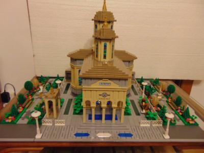 LEGO® MOC by Chyck: Biserica