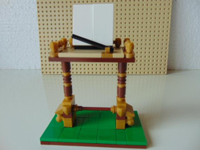 LEGO® MOC by Chyck: Pupitrul dirijorului