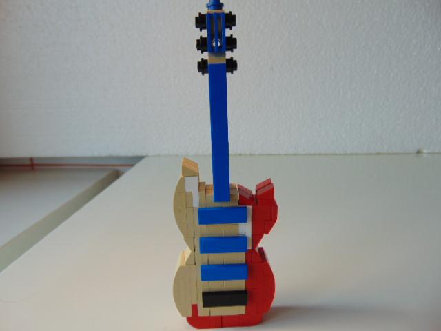 LEGO® MOC by Chyck: Chitara electrica