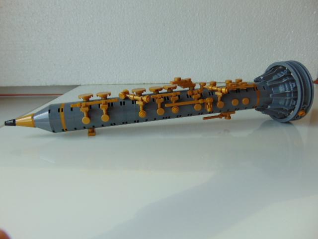 LEGO® MOC by Chyck: Clarinet