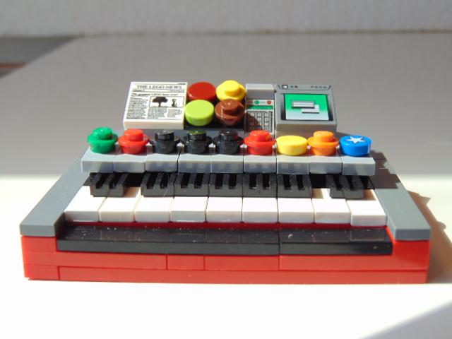 LEGO® MOC by Chyck: Orga electrica