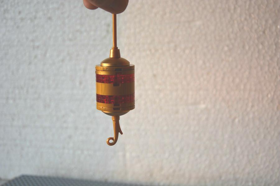 Glob cilindric si steluta cu pietricele